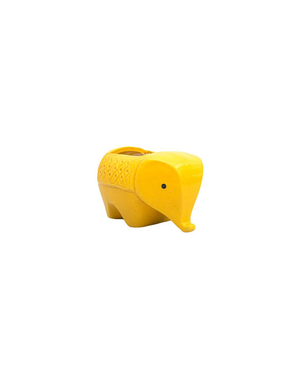 Elephant Pot Yellow
